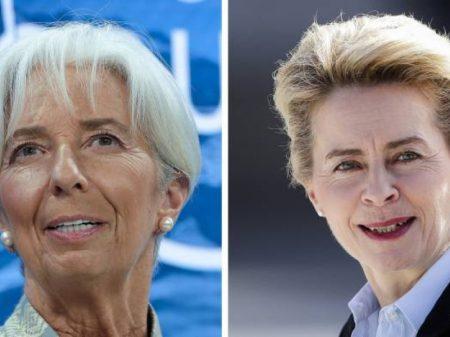 Bruxelas escala a titular da Defesa alemã e a chefe do FMI para dirigir CE e BCE
