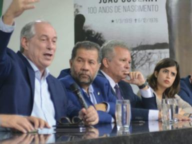 """Os investimentos são os menores desde a 2º Guerra Mundial"", denuncia Ciro"