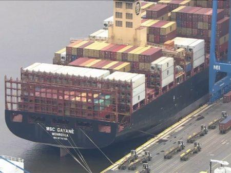Navio do JP Morgan é pego com 20 toneladas de cocaína