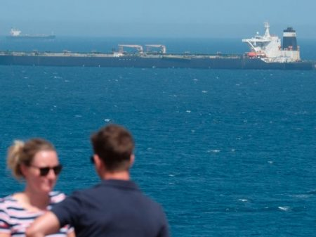 Londres libera petroleiro do Irã em Gibraltar apesar da oposição dos EUA