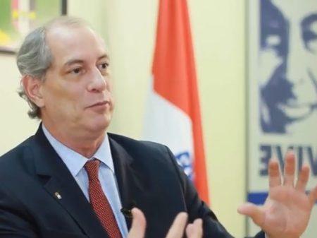 """Ciro diz que a venda da BR Distribuidora """"é uma canalhice"""" do governo"""