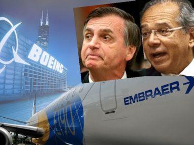 """ESCÂNDALO: """"Joint venture não existe. Embraer será fatiada e vendida à Boeing"""""""