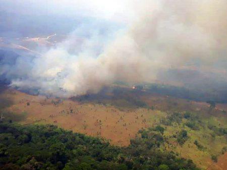 PGR pede punição para autores das queimadas criminosas na Amazônia