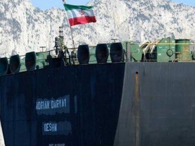 Superpetroleiro iraniano zarpa de Gibraltar e Trump fica no prejuízo