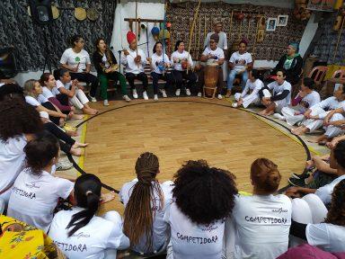 Mulheres da Garoa: campeonato feminino celebra a força da mulher na capoeira