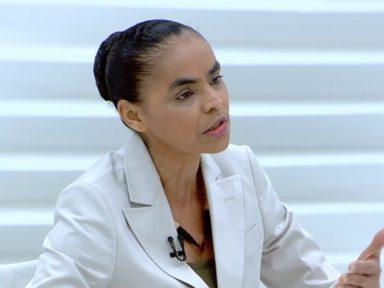 """Vivemos uma  barbárie ambiental promovida por Bolsonaro"", afirma Marina"
