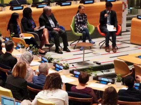 Jovens de 140 países debatem na ONU sobre a defesa do clima