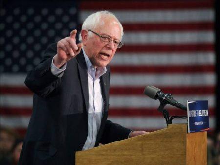 "Sanders conclama  Congresso a barrar ""guerra por petróleo"" contra o Irã"