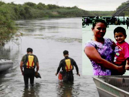Mais mortes: Mãe e filho imigrantes afogados tentando entrar nos EUA