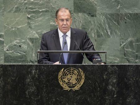 """""""Arrogância neocolonial dos EUA é contra o espírito da ONU"""", afirma Lavrov"""