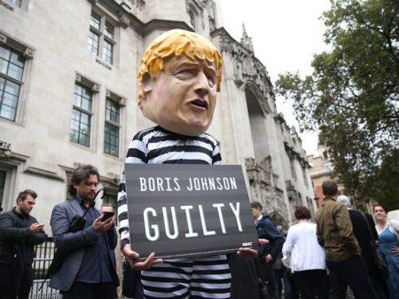 Suprema Corte inglesa revoga suspensão do parlamento por Boris Johnson