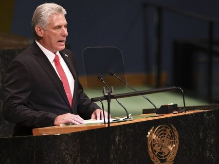 EUA agride Cuba com mais bloqueio, denuncia o presidente Diaz-Canel