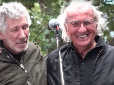 "John Pilger e Roger Waters em Londres: ""libertem Assange já!"""