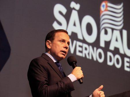 Democracia não pode sofrer ameaças do presidente da República, afirma Doria