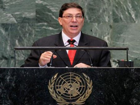 """Cuba denuncia Trump na ONU por agravar o """"criminoso bloqueio"""""""