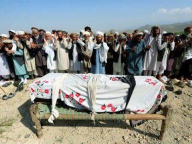 Ataque dos EUA mata 30 agricultores e fere 40 no Afeganistão