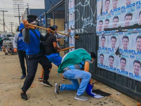 """Evo rechaça agressão mercenária ao MAS: """"fascismo contra a democracia na Bolívia"""""""