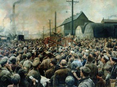 O realismo socialista na pintura (IV): Izaak Brodsky