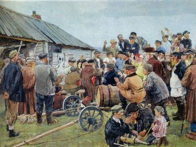 O realismo socialista na pintura (III): Arkady Plastov
