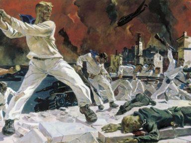 O realismo socialista na pintura (II): Alexander Deineka
