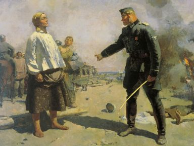 O realismo socialista na pintura (V): Sergei Gerasimov