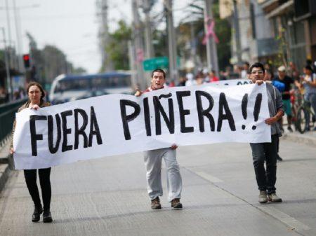 Centrais chilenas convocam greve geral contra arrocho de Piñera