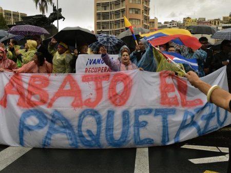 Aumento de 123% no combustível subleva o Equador