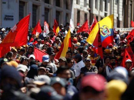 Greve geral e manifestações tomam conta do Equador contra pacotaço do FMI
