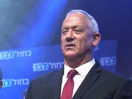 Opositor Gantz rejeita proposta indecorosa de Netanyahu
