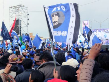 Bolívia vai às urnas neste domingo após intensas mobilizações