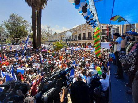 """Evo dedica vitória à decisão do povo de ir contra """"candidato das privatizações e do FMI"""""""