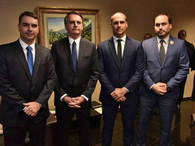 Filho de Bolsonaro ameaça o senador Major Olímpio