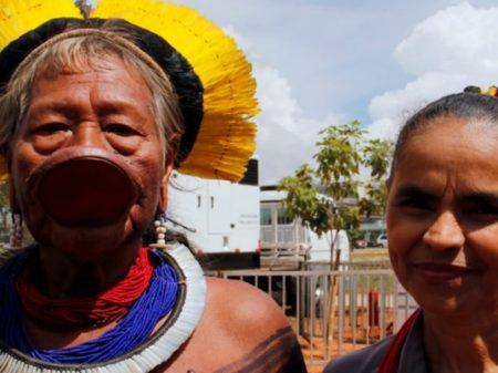 Marina critica discurso de Bolsonaro que incitou garimpeiros