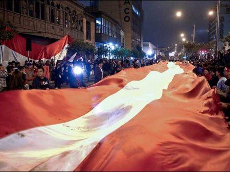 84% apoiam ato presidencial barrando assalto a Tribunal Constitucional do Peru