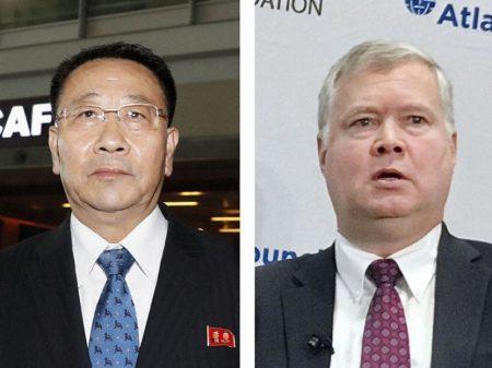 """""""Intransigência dos EUA"""" paralisa negociação com a Coreia na Suécia"""