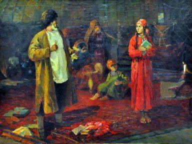 O realismo socialista na pintura (VI): Yevgenia Adamova