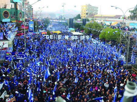 """Evo: """"A vitória da Bolívia será a derrota do neoliberalismo e do FMI"""""""