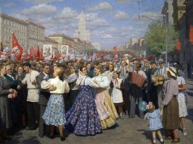 O realismo socialista na pintura (IX): Yuri Kugach