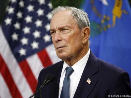 Bilionário Bloomberg se apresenta contra Trump na disputa pela Presidência