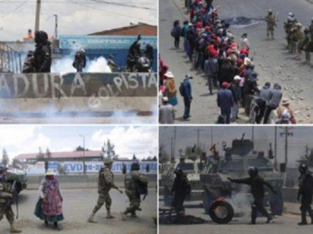Bolívia: golpistas abrem fogo em Senkata, matam oito e ferem 30