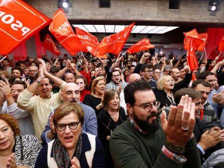 Eleição na Espanha: PSOE é o mais votado mas sem maioria para governar