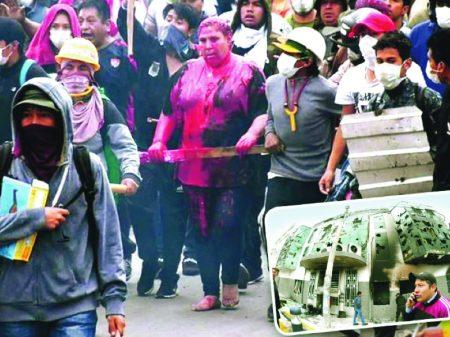 Prefeita boliviana é sequestrada e espancada por milícias fascistas de Camacho