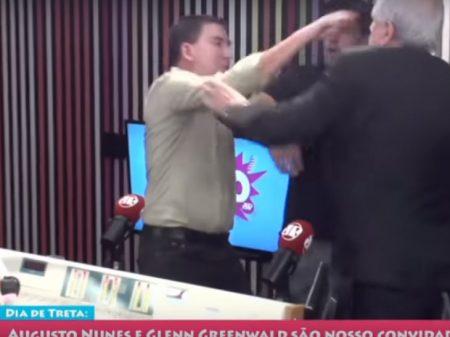 Abraji repudia incitação bolsonarista pró-Augusto Nunes, agressor de Greenwald