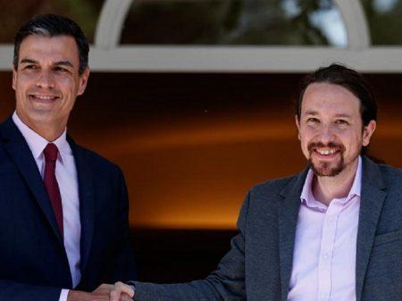 """PSOE e UP anunciam acordo para formar """"governo progressista"""" na Espanha"""