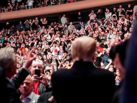 Trump recebe bis de vaia no UFC no Madison Square Garden de Nova Iorque