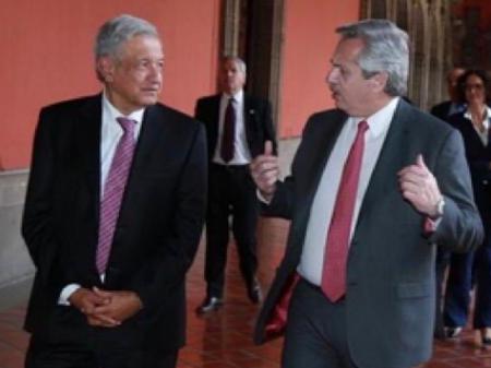 Presidente eleito da Argentina e o mexicano Obrador defendem fortalecimento das duas economias