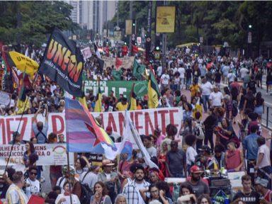 16ª Marcha da Consciência: Milhares ocupam a Paulista contra o racismo