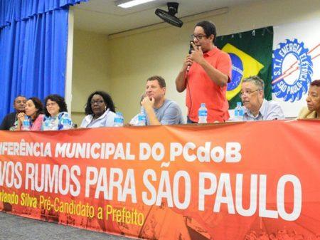 Deputado Orlando Silva é lançado pré-candidato a prefeito de São Paulo