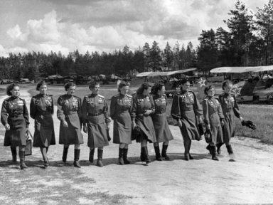 As mulheres da II Guerra Mundial