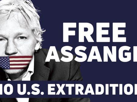 Manifesto exige que governo da Austrália aja contra  extradição de Assange